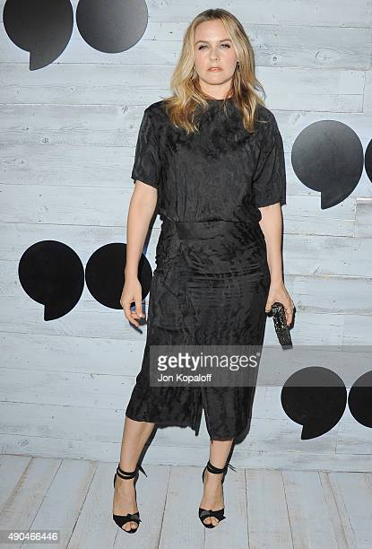 Actress Alicia Silverstone arrives at go90 Sneak Peek at Wallis Annenberg Center for the Performing Arts on September 24 2015 in Beverly Hills...