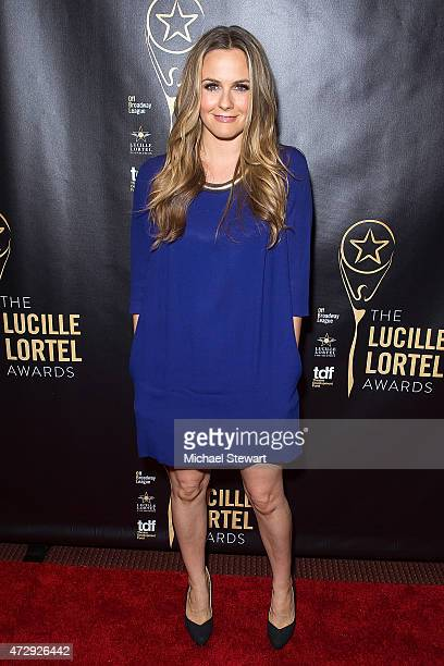 Actress Alicia Silverstone attends the 30th Annual Lucille Lortel Awards at NYU Skirball Center on May 10 2015 in New York City