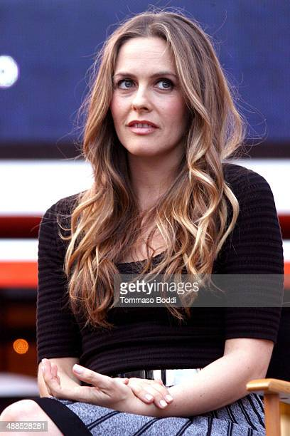 Actress Alicia Silverstone attends the Film Independent's PreFestival outdoor screening of 'Clueless' held at LA LIVE on May 6 2014 in Los Angeles...