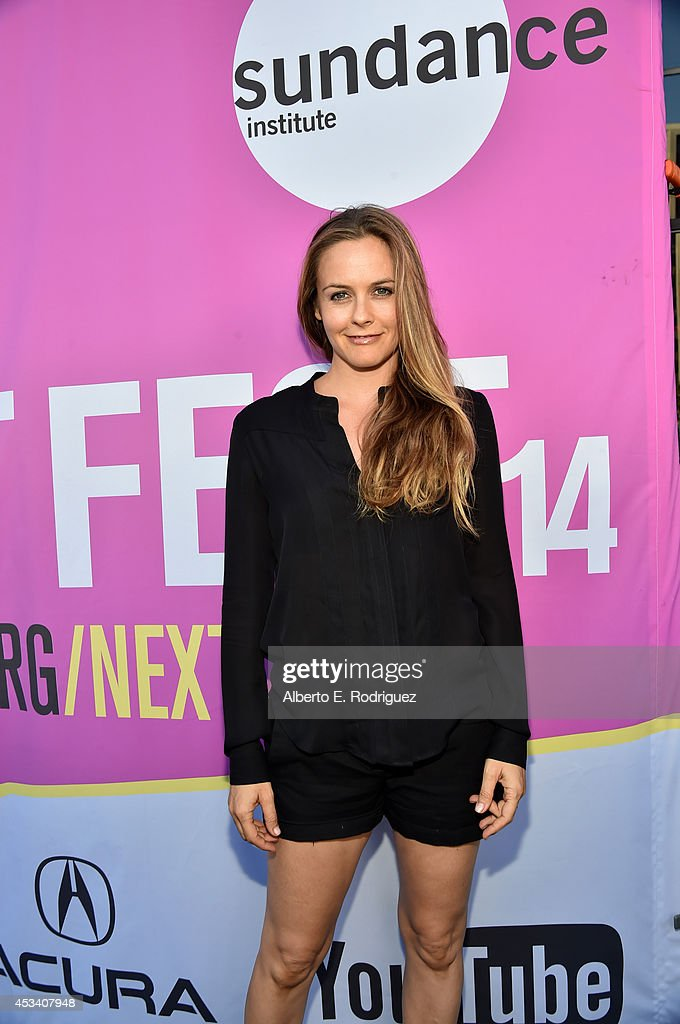 Actress <a gi-track='captionPersonalityLinkClicked' href=/galleries/search?phrase=Alicia+Silverstone&family=editorial&specificpeople=202861 ng-click='$event.stopPropagation()'>Alicia Silverstone</a> attends the screening of 'Listen Up Philip' during Sundance NEXT FEST at The Theatre at Ace Hotel on August 9, 2014 in Los Angeles, California.