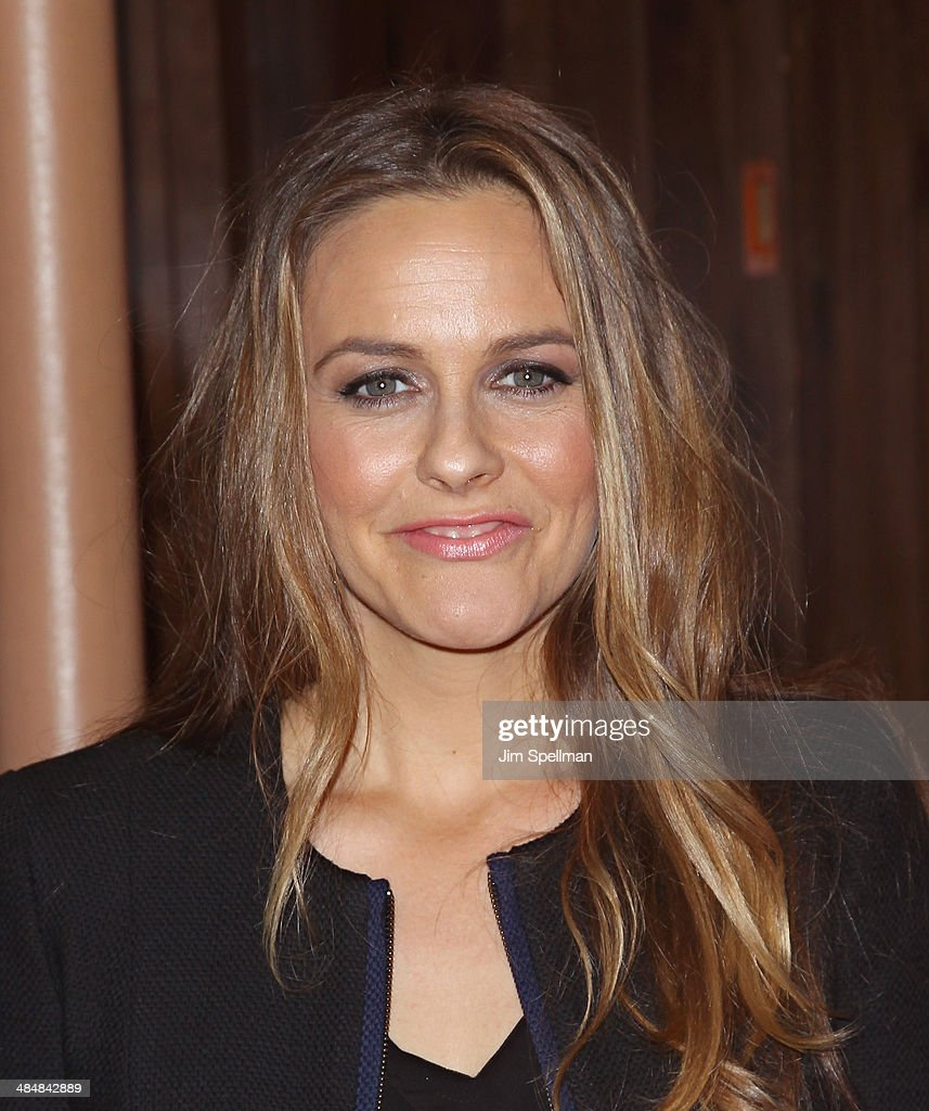 Actress <a gi-track='captionPersonalityLinkClicked' href=/galleries/search?phrase=Alicia+Silverstone&family=editorial&specificpeople=202861 ng-click='$event.stopPropagation()'>Alicia Silverstone</a> promotes 'The Kind Mamma' at Bookends Bookstore on April 14, 2014 in Ridgewood, New Jersey.