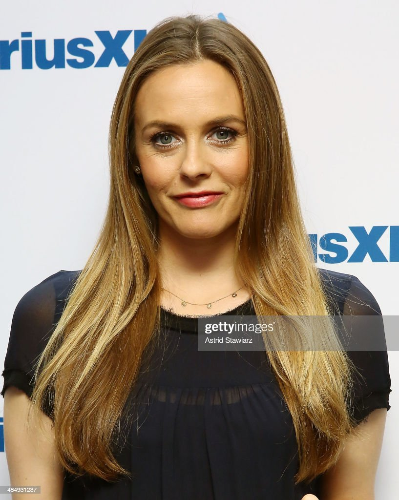 Actress <a gi-track='captionPersonalityLinkClicked' href=/galleries/search?phrase=Alicia+Silverstone&family=editorial&specificpeople=202861 ng-click='$event.stopPropagation()'>Alicia Silverstone</a> visits the SiriusXM Studios on April 15, 2014 in New York City.