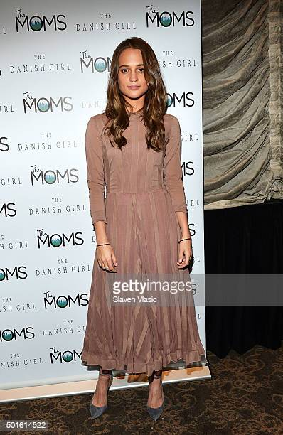 Actress Alicia Vikander attends Mamarazzi Screening of 'The Danish Girl' at Dolby 88 Theater on December 16 2015 in New York City