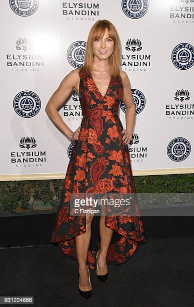 Actress Alicia Witt arrives at The Art of Elysium presents Stevie Wonder's HEAVEN Celebrating the 10th Anniversary at Red Studios on January 7 2017...