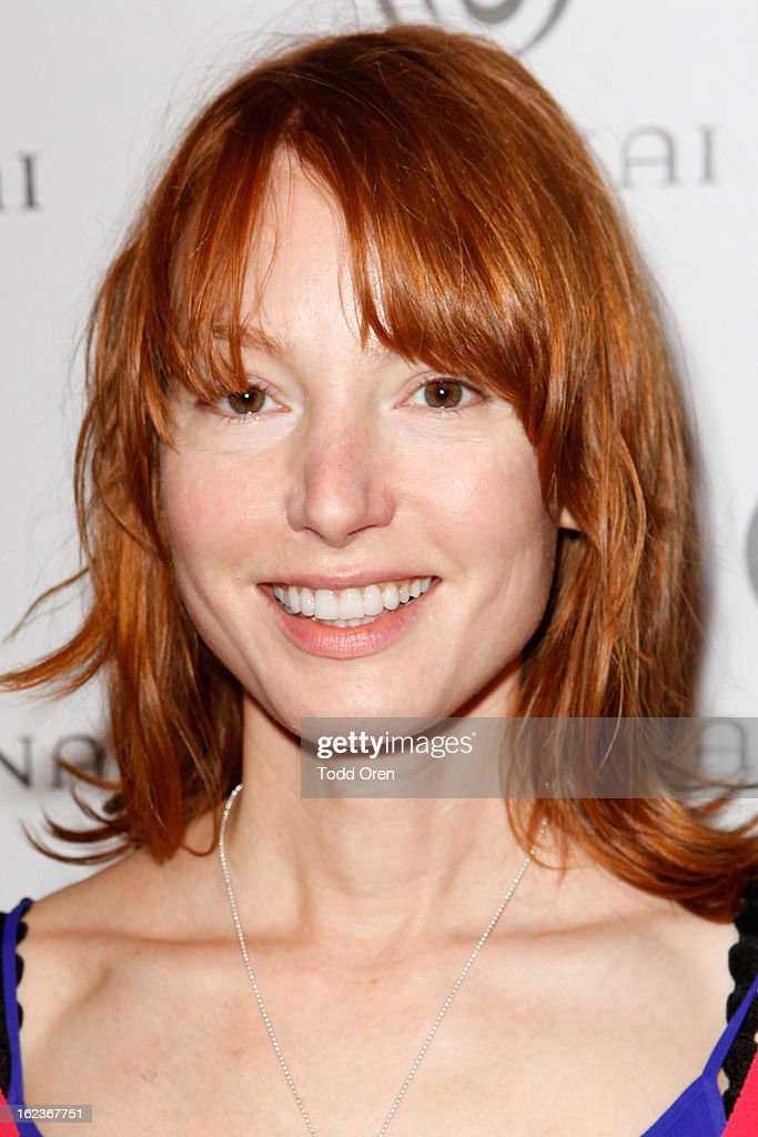 Actress <a gi-track='captionPersonalityLinkClicked' href=/galleries/search?phrase=Alicia+Witt&family=editorial&specificpeople=213702 ng-click='$event.stopPropagation()'>Alicia Witt</a> attends Kari Feinstein's Pre-Academy Awards Style Lounge at W Hollywood on February 22, 2013 in Hollywood, California.