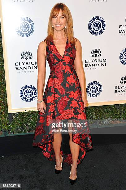 Actress Alicia Witt attends Stevie Wonder's HEAVEN 10th Anniversary celebration presented by The Art of Elysium at Red Studios on January 7 2017 in...