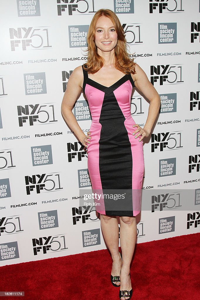 Actress <a gi-track='captionPersonalityLinkClicked' href=/galleries/search?phrase=Alicia+Witt&family=editorial&specificpeople=213702 ng-click='$event.stopPropagation()'>Alicia Witt</a> attends the 'About Time' premiere during the 51st New York Film Festival at Alice Tully Hall at Lincoln Center on October 1, 2013 in New York City.