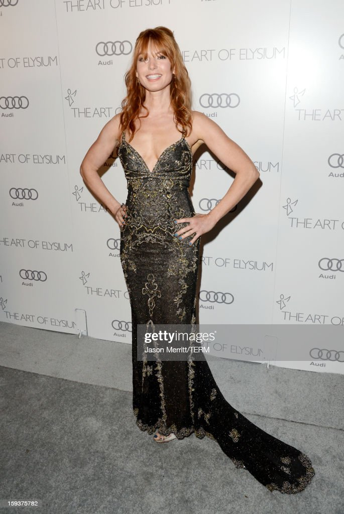 Actress Alicia Witt attends The Art of Elysium's 6th Annual HEAVEN Gala presented by Audi at 2nd Street Tunnel on January 12, 2013 in Los Angeles, California.