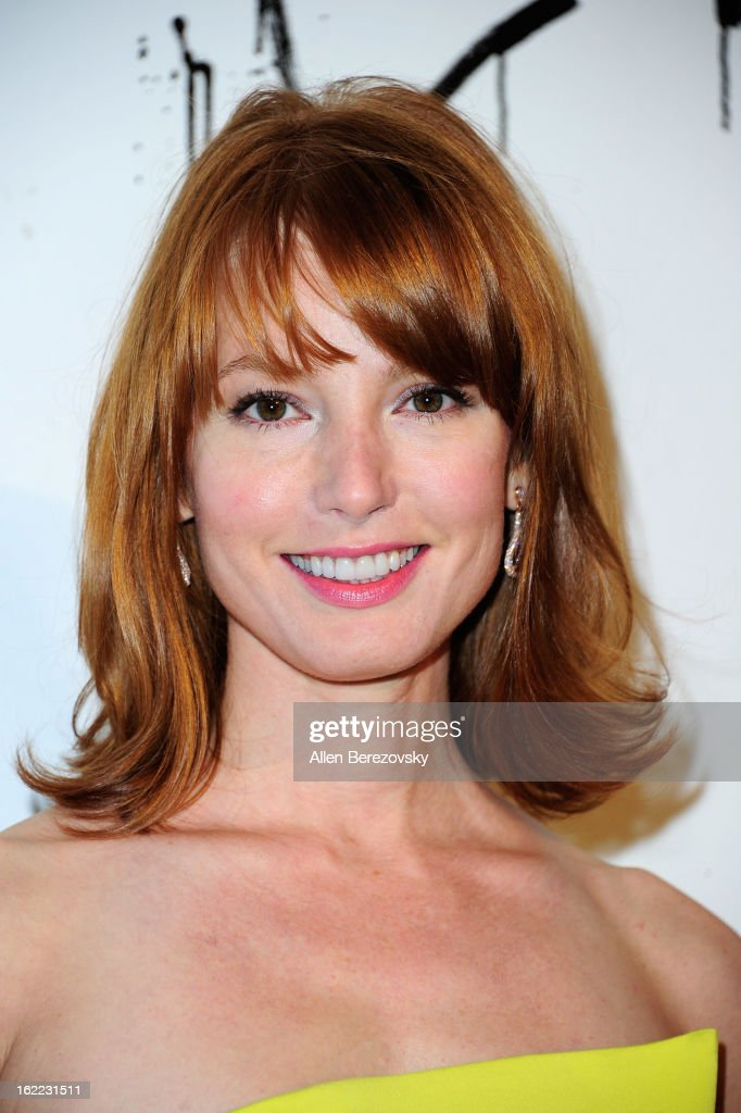Actress Alicia Witt attends The Art of Elysium's 6th annual Pieces of Heaven charity art auction presented by Ciroc Ultra Premium Vodka at Ace Museum on February 20, 2013 in Los Angeles, California.