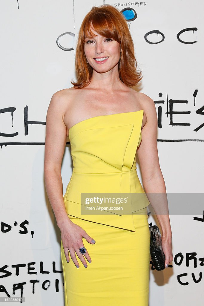 Actress Alicia Witt attends The Art Of Elysium's 6th Annual Pieces Of Heaven Powered By Ciroc Ultra Premium Vodka at Ace Museum on February 20, 2013 in Los Angeles, California.