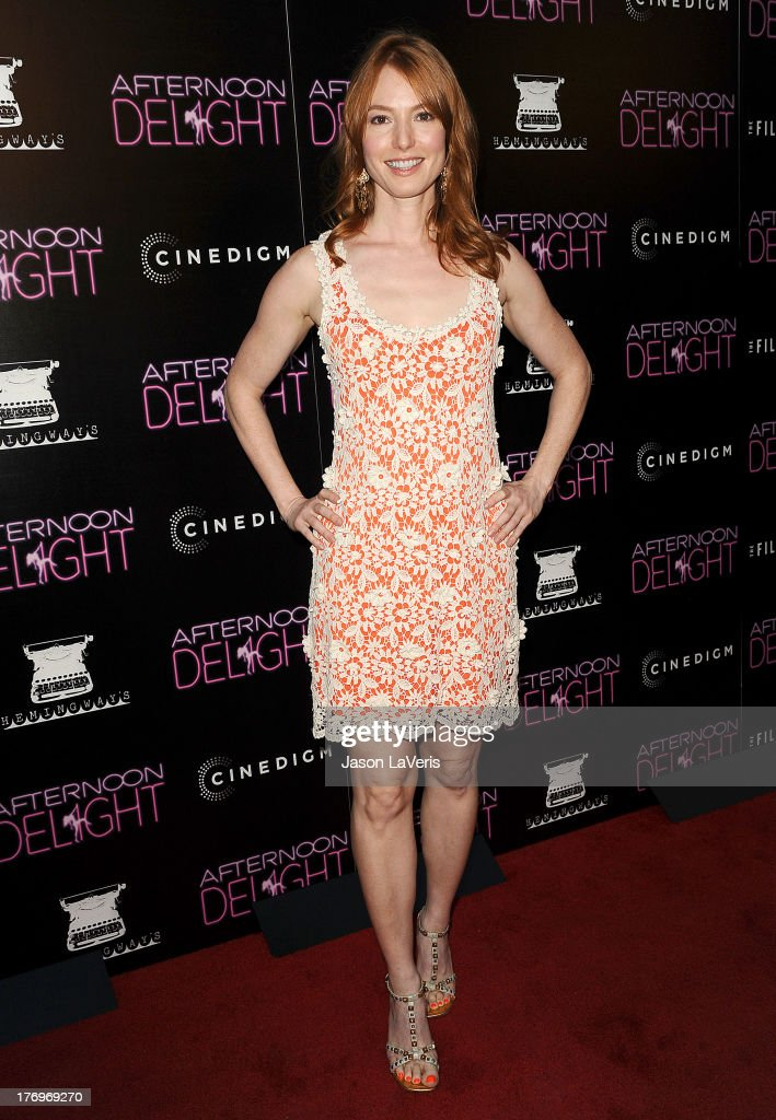 Actress <a gi-track='captionPersonalityLinkClicked' href=/galleries/search?phrase=Alicia+Witt&family=editorial&specificpeople=213702 ng-click='$event.stopPropagation()'>Alicia Witt</a> attends the premiere of 'Afternoon Delight' at ArcLight Hollywood on August 19, 2013 in Hollywood, California.