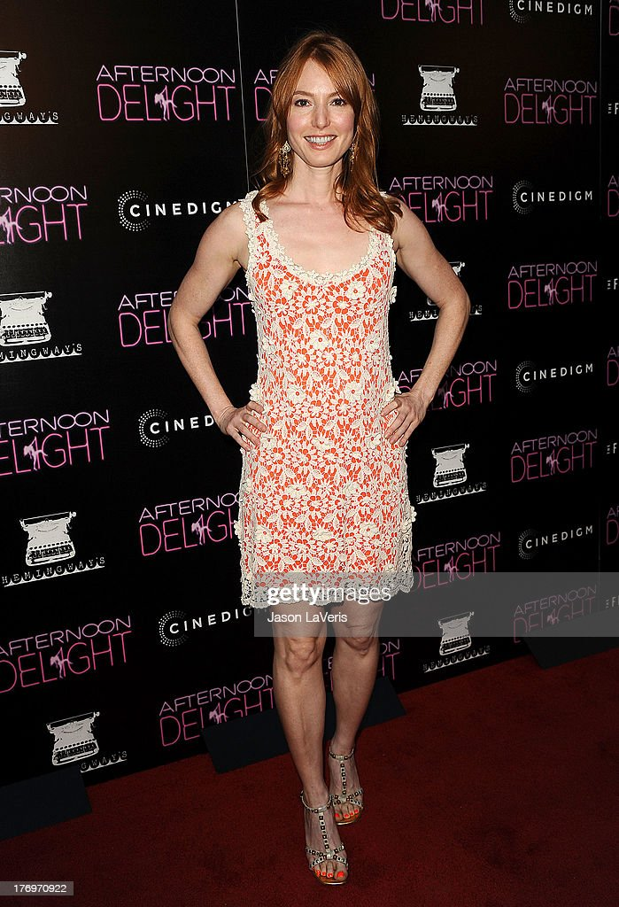 Actress Alicia Witt attends the premiere of 'Afternoon Delight' at ArcLight Hollywood on August 19, 2013 in Hollywood, California.