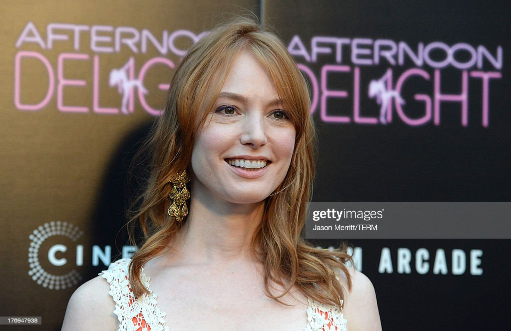 Actress <a gi-track='captionPersonalityLinkClicked' href=/galleries/search?phrase=Alicia+Witt&family=editorial&specificpeople=213702 ng-click='$event.stopPropagation()'>Alicia Witt</a> attends the premiere of the Film Arcade and Cinedigm's 'Afternoon Delight' at ArcLight Hollywood on August 19, 2013 in Hollywood, California.