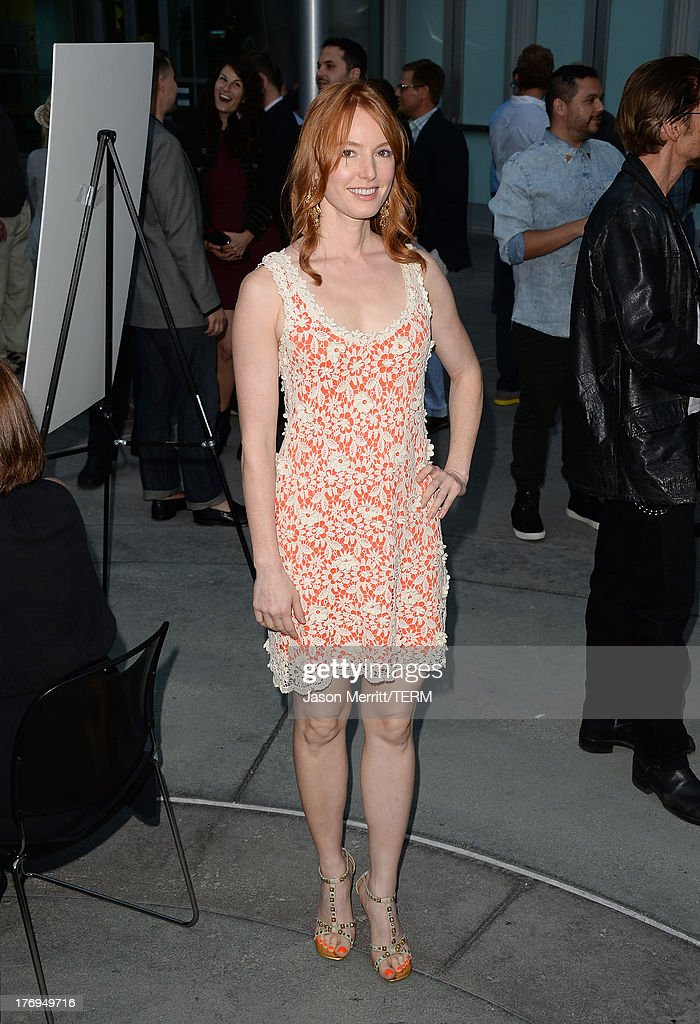 Actress Alicia Witt attends the premiere of the Film Arcade and Cinedigm's 'Afternoon Delight' at ArcLight Hollywood on August 19, 2013 in Hollywood, California.