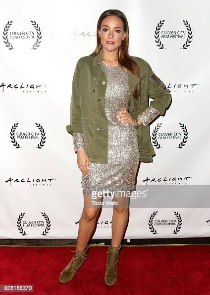 Actress Alicja BachledaCurus attends the US premiere of the feature film 'Polaris' at ArcLight Cinemas on December 6 2016 in Culver City California