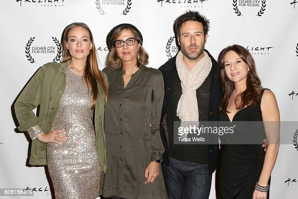 Actress Alicja BachledaCurus director Soudabeh Moradian actor Coby Ryan McLAughlin and producer Christina Jo'Leigh attend the US premiere of the...