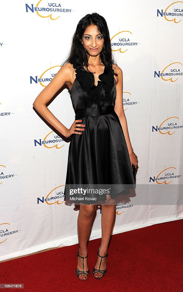 Actress Alieesa P Badresia attends UCLA Department of Neurosurgery's 2010 Visionary Ball at The Beverly Hilton Hotel on October 14, 2010 in Beverly Hills, California.