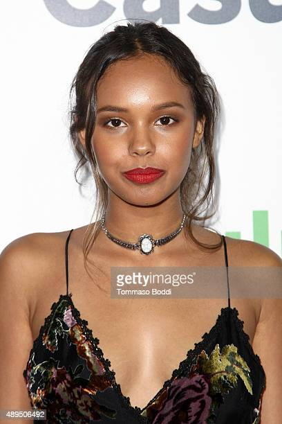 Actress Alisha Boe attends the Hulu Original 'Casual' premiere at Gracias Madre on September 21 2015 in West Hollywood California