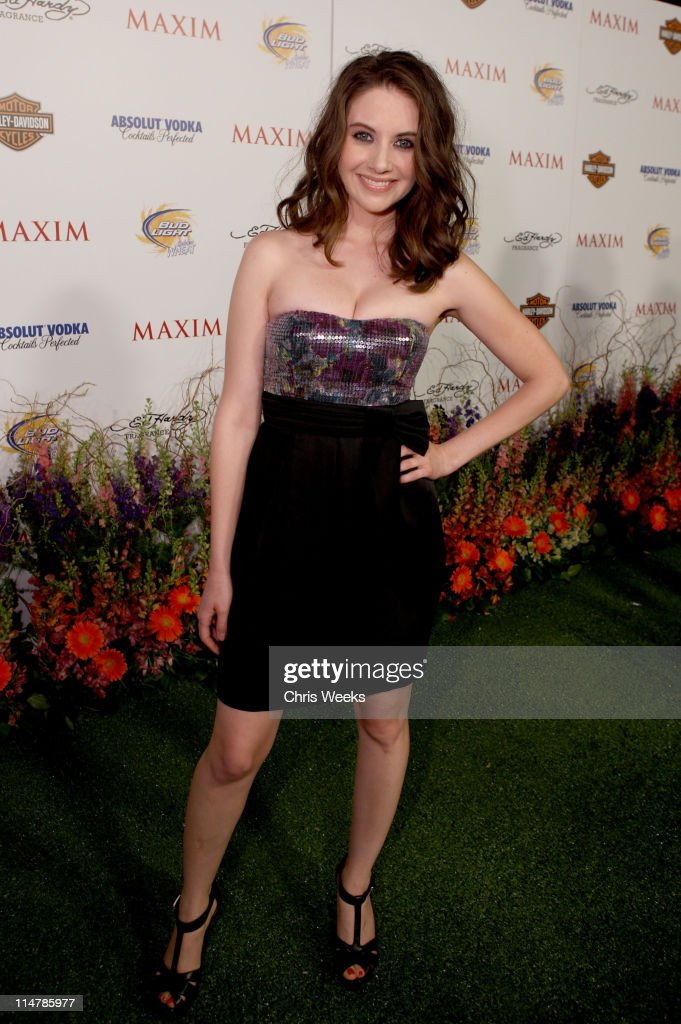 Actress Alison Brie arrives at the 11th annual Maxim Hot 100 Party with Harley-Davidson, ABSOLUT VODKA, Ed Hardy Fragrances, and ROGAINE held at Paramount Studios on May 19, 2010 in Los Angeles, California.