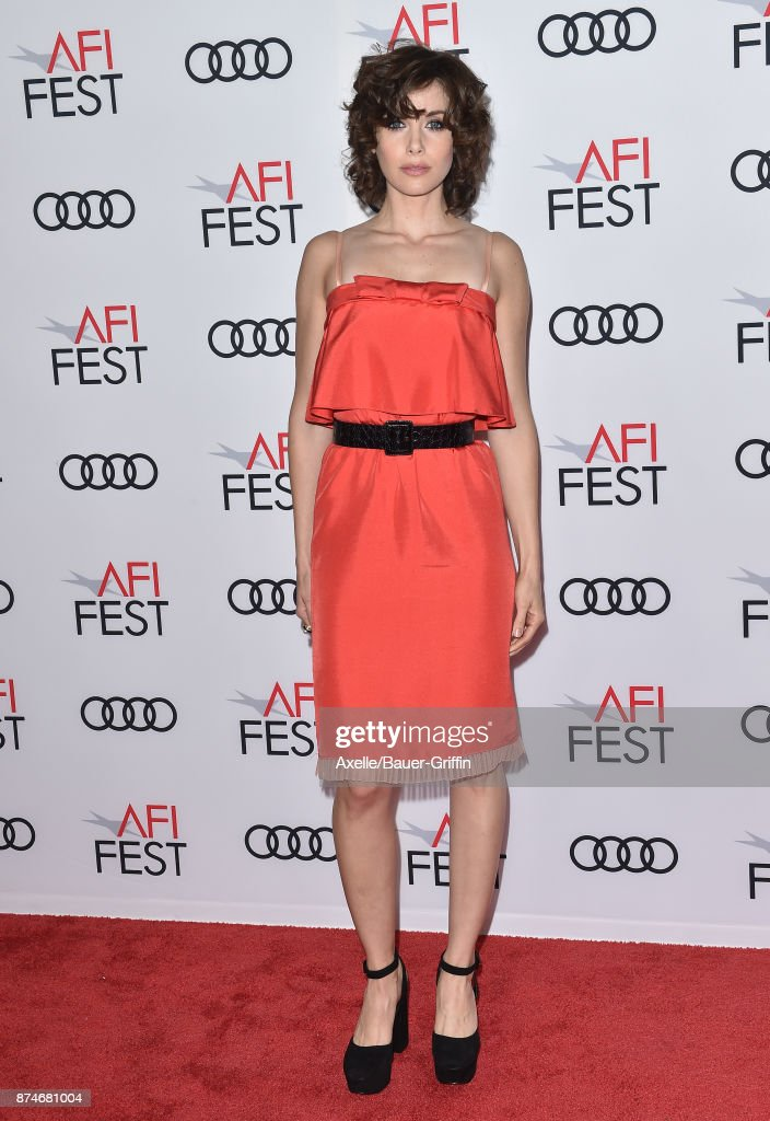 Actress Alison Brie arrives at the AFI FEST 2017 presented by Audi - screening of 'The Disaster Artist' at TCL Chinese Theatre on November 12, 2017 in Hollywood, California.