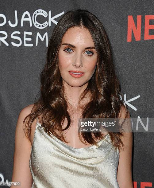 Actress Alison Brie attends a screening of 'BoJack Horseman' at ArcLight Hollywood on July 14 2016 in Hollywood California