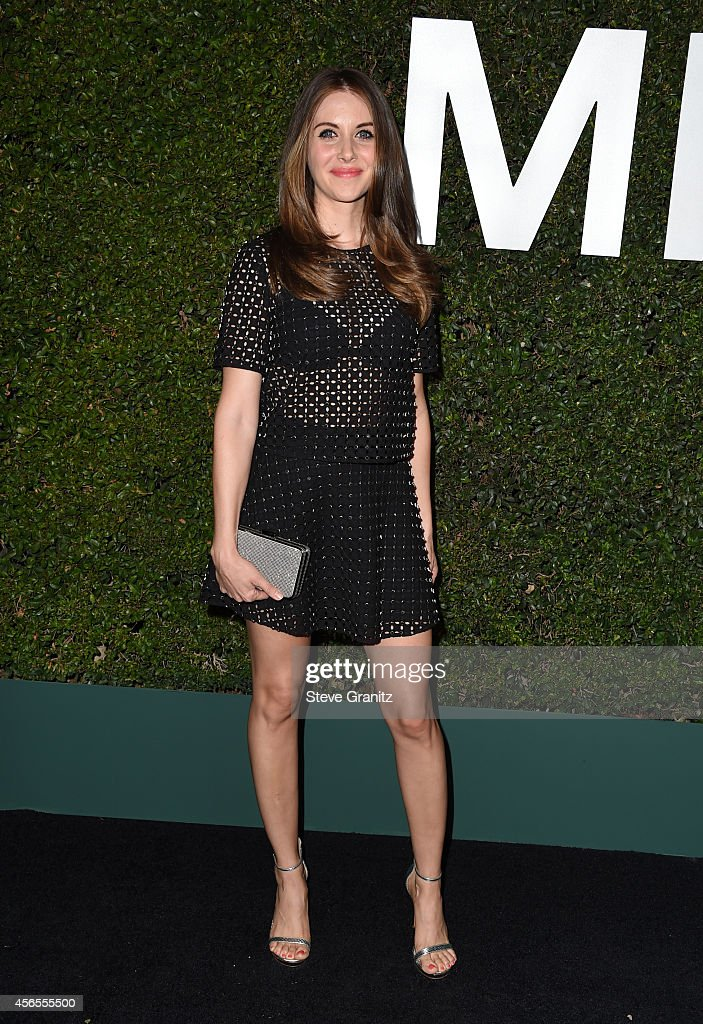 Actress Alison Brie attends Claiborne Swanson Frank's Young Hollywood book launch hosted by Michael Kors at Private Residence on October 2 2014 in...