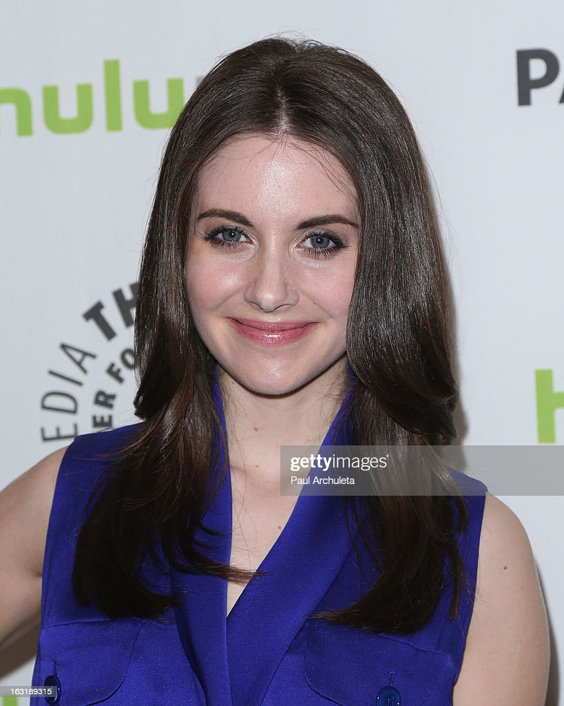 Actress Alison Brie attends the 30th annual PaleyFest featuring the cast of 'Community' at the Saban Theatre on March 5, 2013 in Beverly Hills, California.