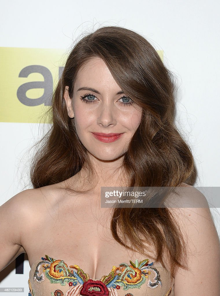 Actress Alison Brie attends the AMC celebration of the 'Mad Men' season 7 premiere at ArcLight Cinemas on April 2, 2014 in Hollywood, California.