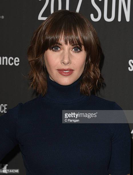 Actress Alison Brie attends 'The Little Hours' premiere during day 1 of the 2017 Sundance Film Festival at Library Center Theater on January 19 2017...