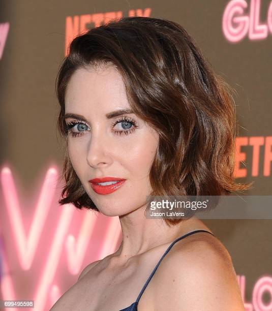 Actress Alison Brie attends the premiere of 'GLOW' at The Cinerama Dome on June 21 2017 in Los Angeles California