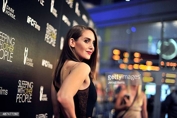 Actress Alison Brie attends the Premiere of IFC Films' 'Sleeping With Other People' at ArcLight Cinemas on September 9 2015 in Hollywood California