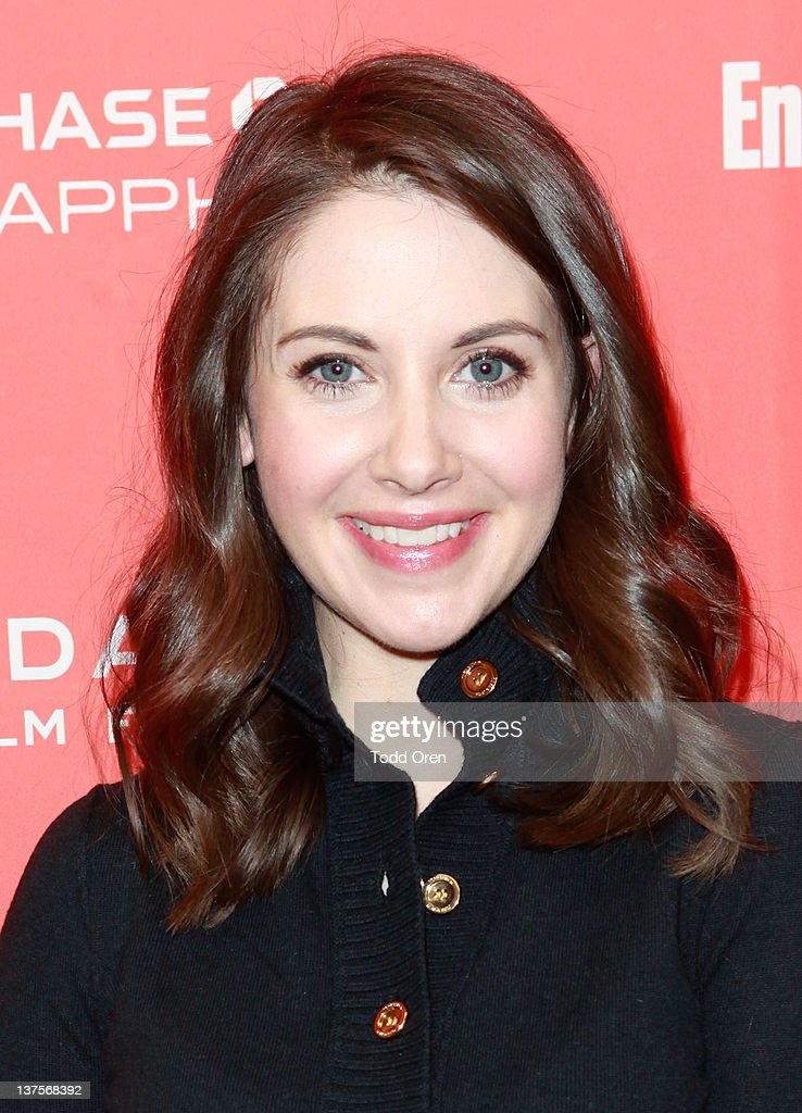 Actress Alison Brie attends the 'Save The Date' premiere during the 2012 Sundance Film Festival held at Library Center Theater on January 22, 2012 in Park City, Utah.