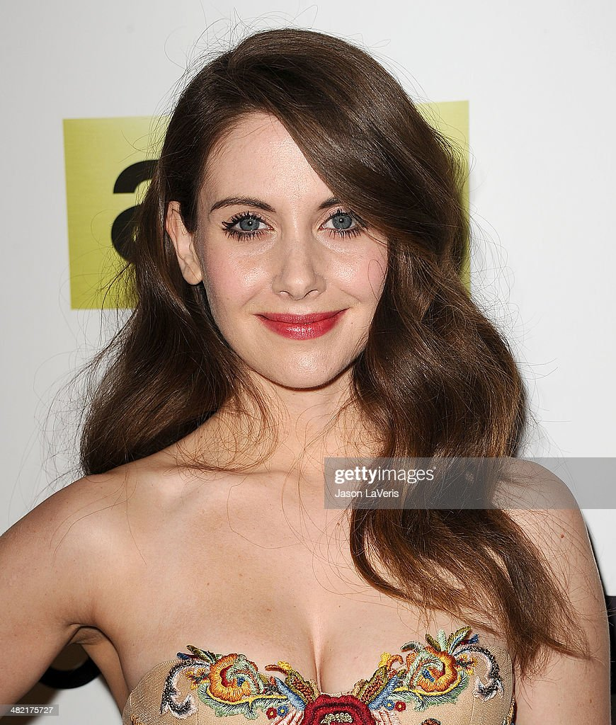 Actress <a gi-track='captionPersonalityLinkClicked' href=/galleries/search?phrase=Alison+Brie&family=editorial&specificpeople=5447578 ng-click='$event.stopPropagation()'>Alison Brie</a> attends the season 7 premiere of 'Mad Men' at ArcLight Cinemas on April 2, 2014 in Hollywood, California.