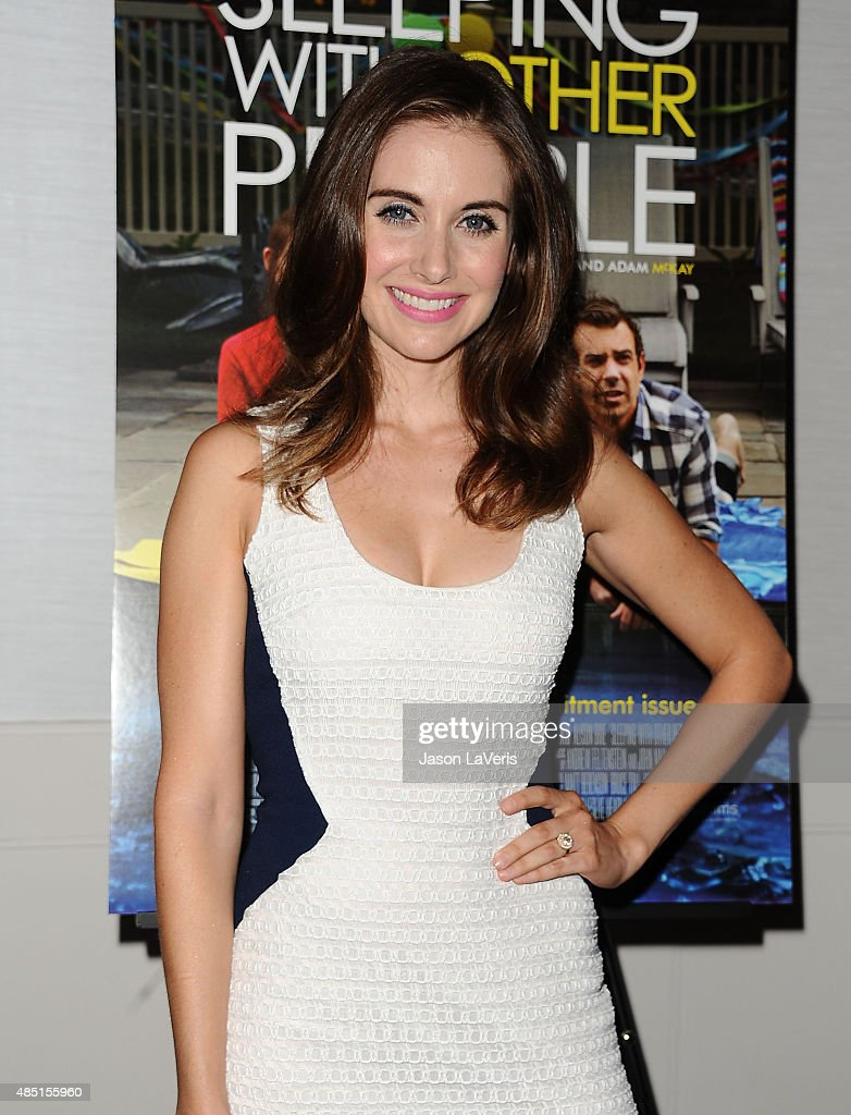 Actress Alison Brie attends the tastemaker screening of IFC Films' 'Sleeping With Other People' on August 24, 2015 in West Hollywood, California.