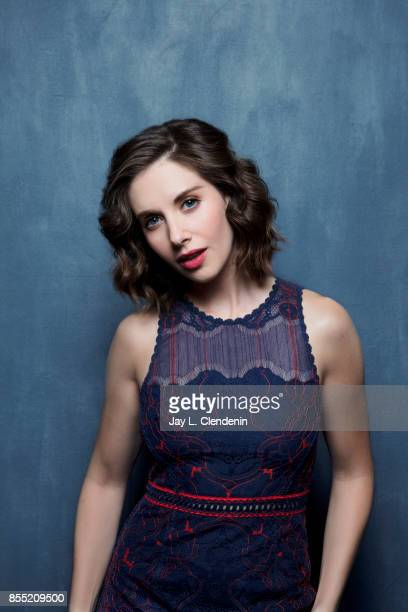 Actress Alison Brie from the film 'The Disaster Artist' poses for a portrait at the 2017 Toronto International Film Festival for Los Angeles Times on...