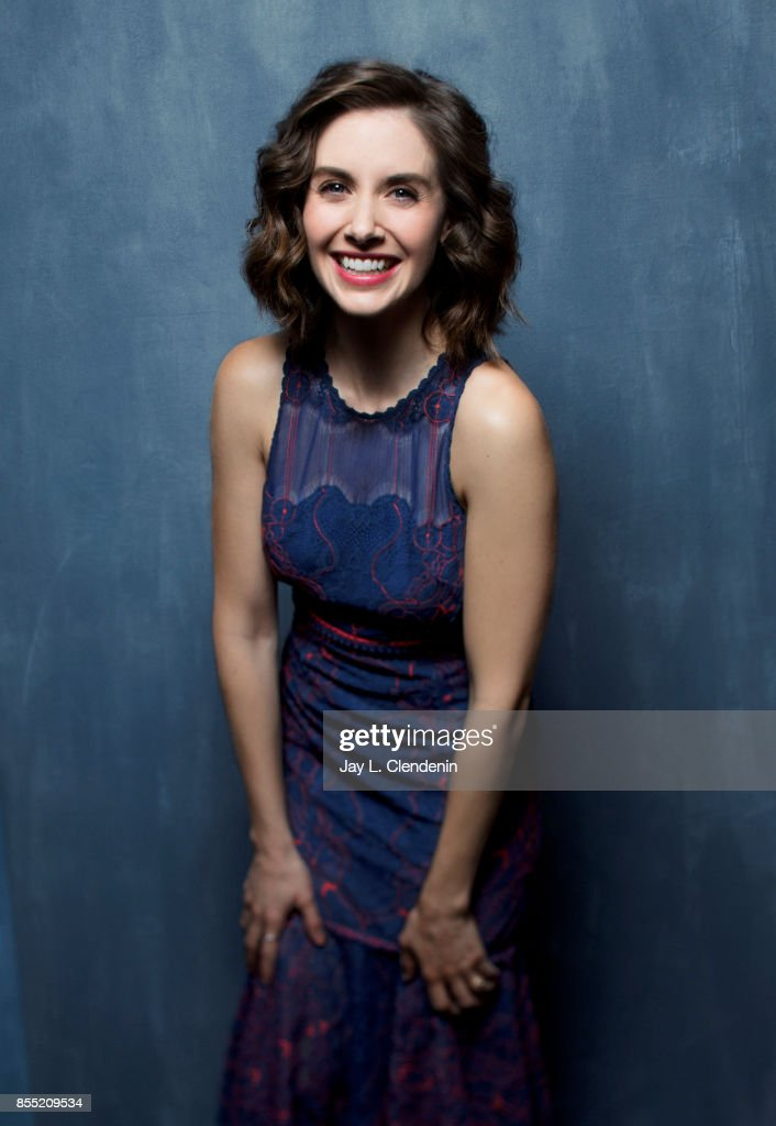 Actress Alison Brie from the film, 'The Disaster Artist,' poses for a portrait at the 2017 Toronto International Film Festival for Los Angeles Times on September 11, 2017 in Toronto, Ontario.