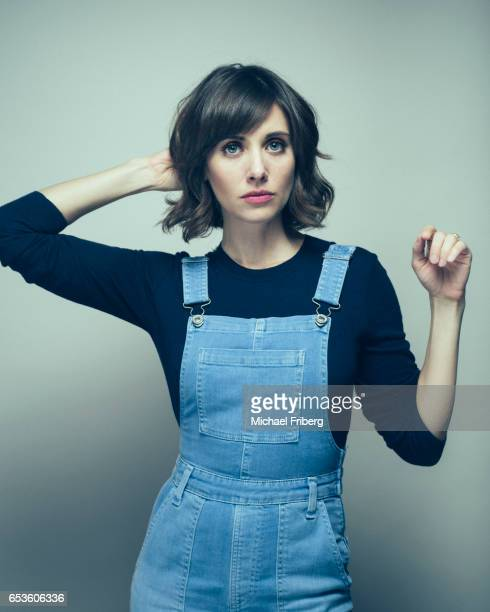 Actress Alison Brie from the film 'Thoroughbred'poses for a portrait at the Sundance Film Festival for Variety on January 21 2017 in Salt Lake City...
