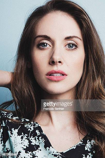 Actress Alison Brie is photographed at the 41st Deauville American Film Festival on September 6 2015 in Deauville France