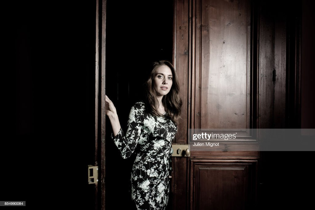 Actress Alison Brie is photographed for Grazia Magazine on September 6, 2015 in Paris, France.