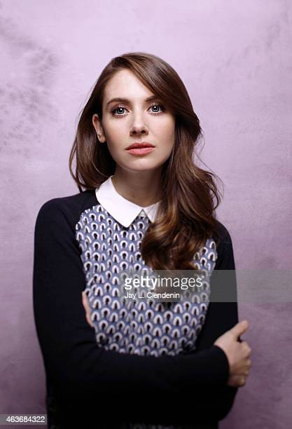 Actress Alison Brie is photographed for Los Angeles Times on January 24 2015 in Park City Utah PUBLISHED IMAGE CREDIT MUST READ Jay L Clendenin/Los...