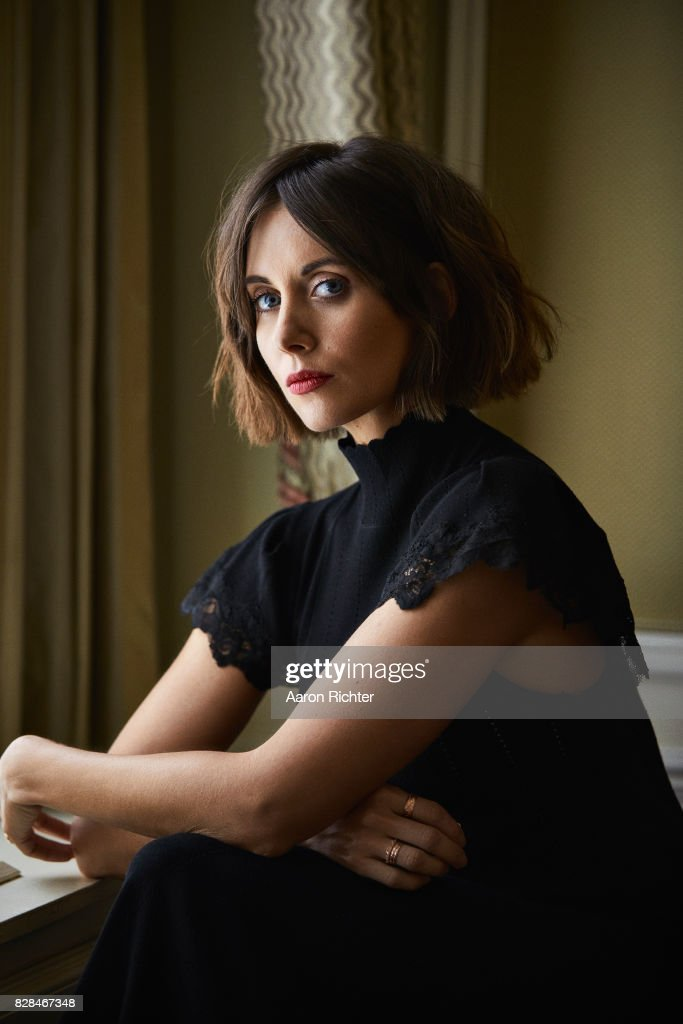 Actress Alison Brie is photographed for New York Times on May 11, 2017 in New York City.