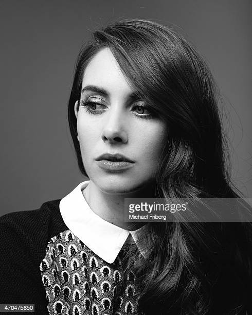 Actress Alison Brie is photographed for Variety on February 3 2015 in Park City Utah ON DOMESTIC EMBARGO UNTIL MAY 3 2015 ON INTERNATIONAL EMBARGO...