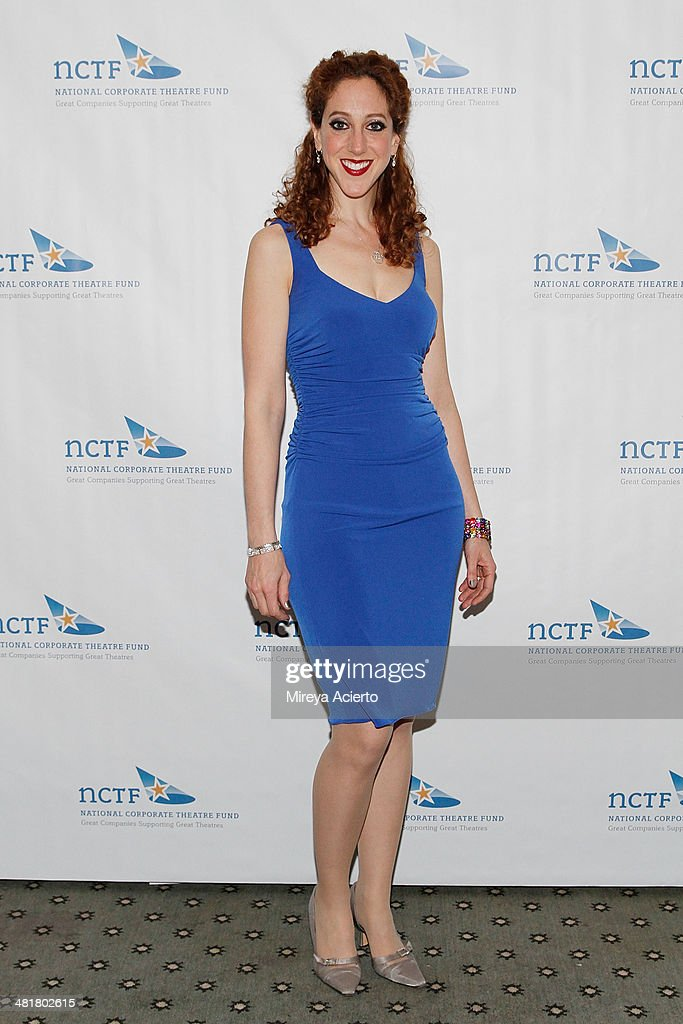 Actress Alison Cimmet attends the 2014 National Corporate Theatre Fund Chairman's Awards Gala at The Pierre Hotel on March 31, 2014 in New York City.