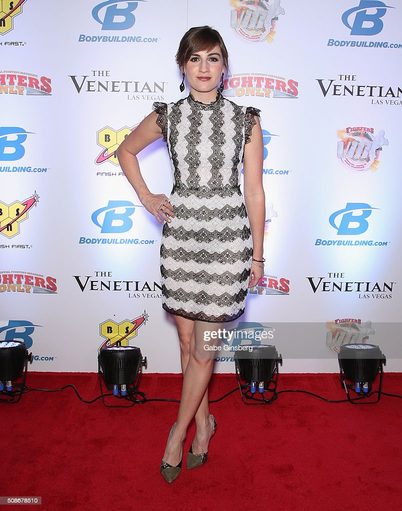 Actress Alison Haislip attends the eighth annual Fighters Only World Mixed Martial Arts Awards at The Palazzo Las Vegas on February 5, 2016 in Las Vegas, Nevada.
