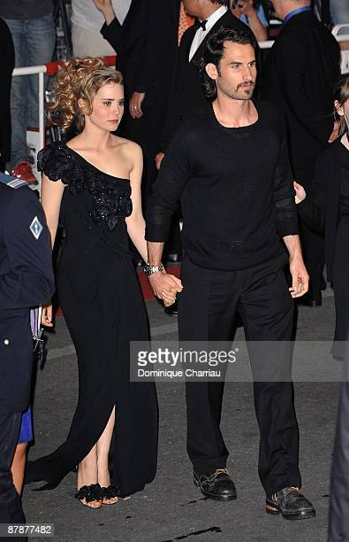 Actress Alison Lohman and Mark Neveldine attends the Drag Me to Hell Premiere at the Grand Theatre Lumiere during the 62nd Annual Cannes Film...