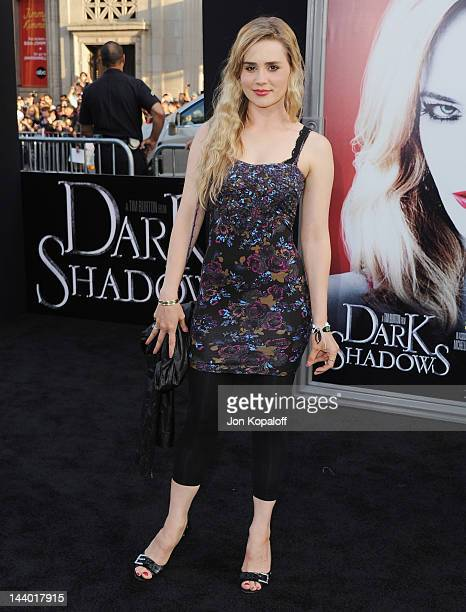 Actress Alison Lohman arrives at the Los Angeles premiere of 'Dark Shadows' at Grauman's Chinese Theatre on May 7 2012 in Hollywood California