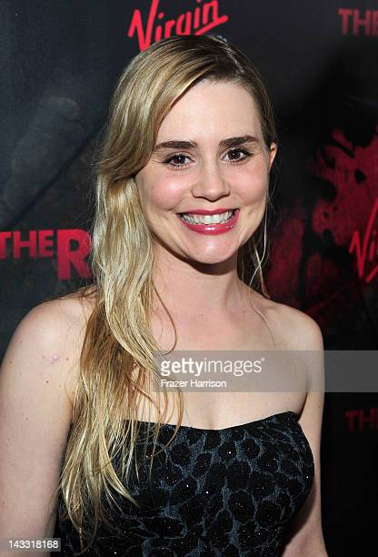 Actress Alison Lohman arrives at the Los Angeles premiere of Relativity Media's 'The Raven' held at the Los Angeles Theatre on April 23 2012 in Los...