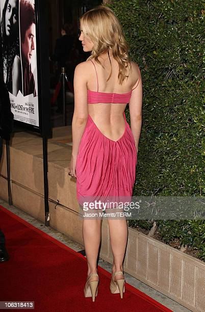 Actress Alison Lohman arrives at the premiere of 'Things We Lost in the Fire' at Mann's Egyptian Theater on October15 2007 in Hollywood California