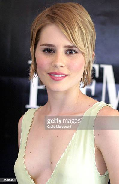 Actress Alison Lohman attends the 10th Annual Premiere Women in Hollywood Luncheon at the Four Season Hotel October 23 2003 in Beverly Hills...