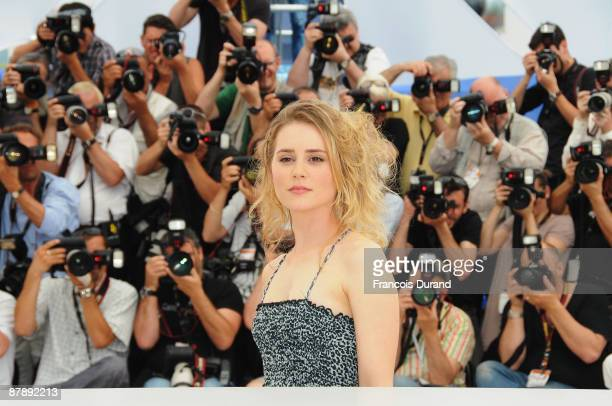 Actress Alison Lohman attends the Drag Me To Hell Photocall at the Palais Des Festivals during the 62nd International Cannes Film Festival on May 21...